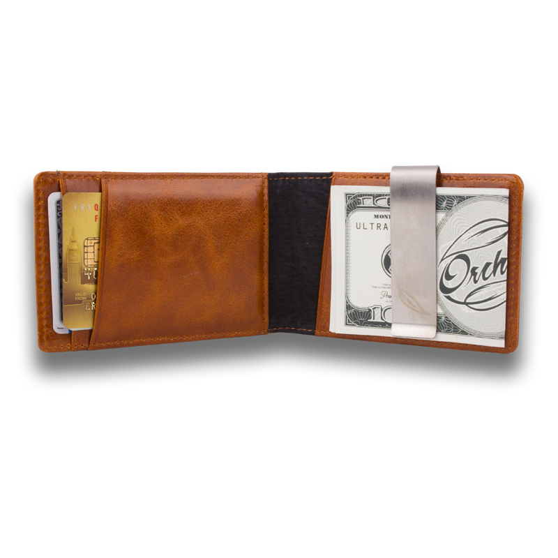 Orchill Leather Wallet - TopShelfTequila.com.au