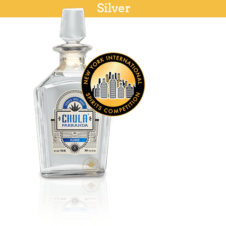 Award Winning Chula Parranda Blanco Tequila (750ml / 40%)