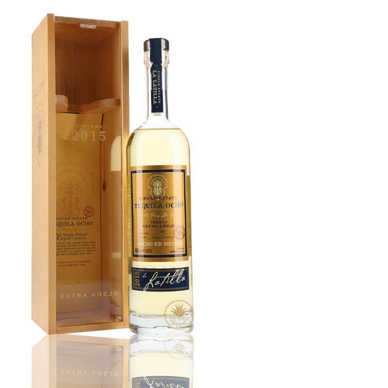 Ocho Single Estate Extra Anejo Tequila (700ml / 40%) Boxed