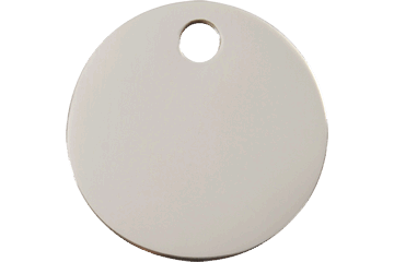 Flat Stainless Steel ID Tags in 7 Different Shapes and 3 Sizes