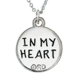 Pink In My Heart Necklace