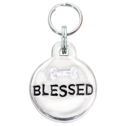 Blessed Pet Charm with Bone