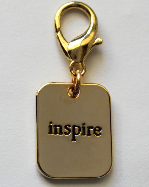 Gold Inspire Pet Tag