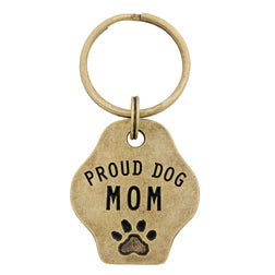 Proud Dog Mom Keychain