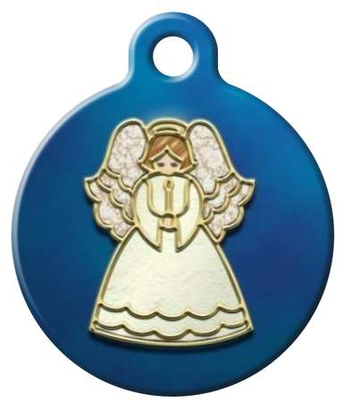 Heavenly Angel Pet id Tag