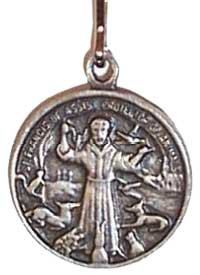 St Francis of Assisi Pet Charm