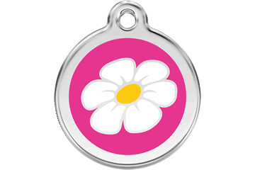 Daisy Enamel Pet ID Tag - in 8 Colors