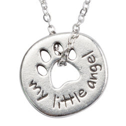 Paw Necklace - My Little Angel