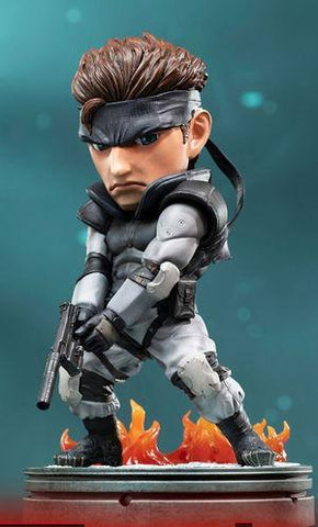 Metal Gear Solid: Solid Snake SD 8 Statue Pre-order First 4 Figures