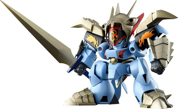 Mashin Hero Wataru: Ms-09 Black Metal Jacket Ryuoumaru Model Kit Model Kit Max Factory