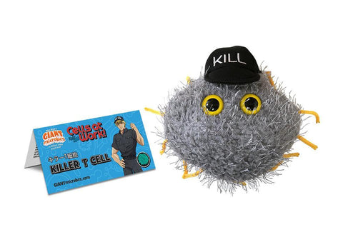 Cells at Work!: X Giantmicrobes - Killer T Cell Plush Plush Aniplex