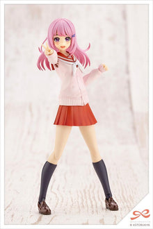 Original Character: Madoka Yuki Touou High School Winter Clothes -Dreaming Style Fresh Berry- Model Kit Kotobukiya