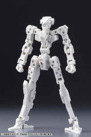 Frame Arms: Frame Architect Type-001 (Off White) :RE2 Model Kit Pre-order Kotobukiya