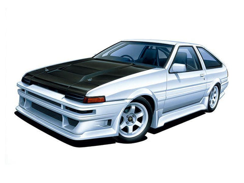 1/24 Scale Tuned Car No. 45 Toyota Car Boutique Club AE86 Trueno '85 Model Kit Pre-order Aoshima