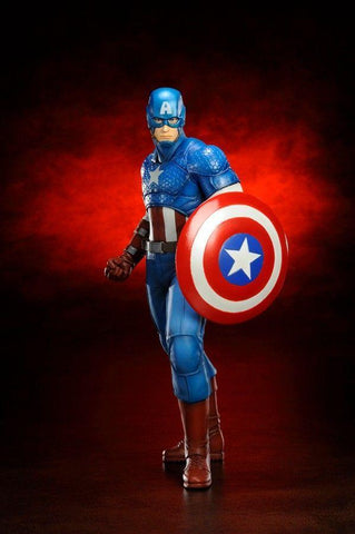 Marvel: Captain America Marvel Now ARTFX+ Statue 1/10 Scale Figure Kotobukiya