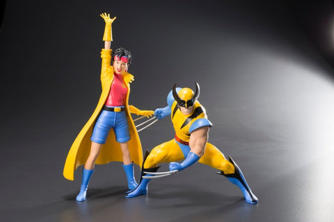 X-Men '92 Series: Wolverine & Jubilee Two Pack ARTFX+ Statue 1/10 Scale Figure Kotobukiya