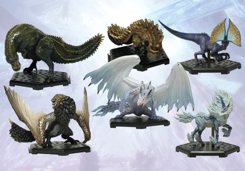 Capcom Figure Builder Monster Hunter Standard Model Plus Vol. 12 Set Trading Figure CAPCOM