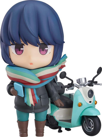 Nendoroid Rin Shima (Touring Ver.): Laid-Back Camp Pre-order Max Factory