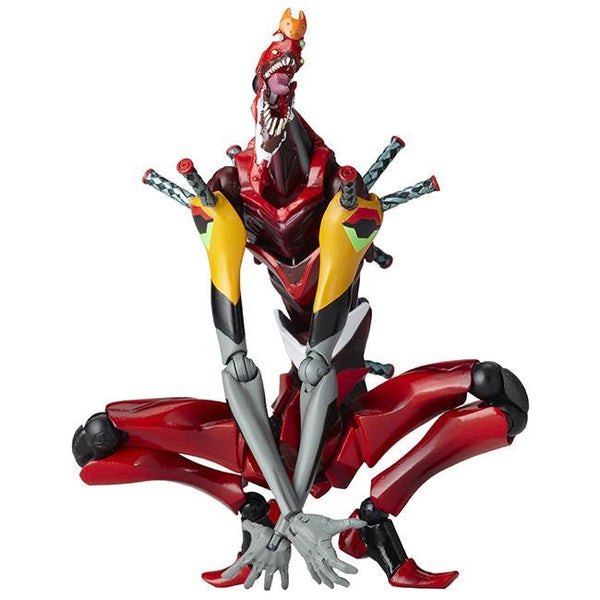 "Revoltech Evangelion Evolution EVA-02 Beast Mode 2nd Form ""The Beast"" Non-scale Figure Union Creative"
