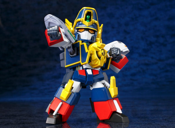 The Brave Express Might Gaine: Might Gaine D-Style Model Kit Model Kit Kotobukiya