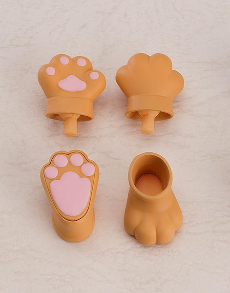 Animal Hand Parts Set (Brown): Nendoroid Doll Pre-order Good Smile Company