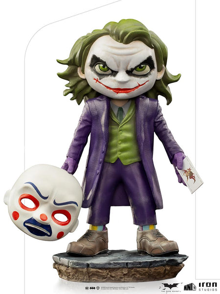 DC Comics: The Joker (The Dark Knight) Minico Non-Scale Figure Pre-order Iron Studios