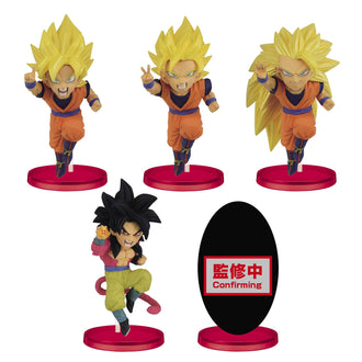 Dragon Ball Z Dokkan Battle 5th Anniversary World Collectable Trading Figures Set of 12 Banpresto Trading Figures Trading Figures Banpresto