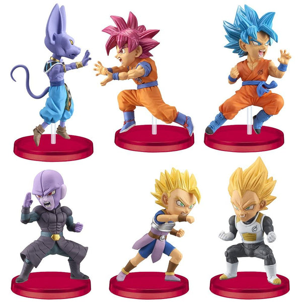 Dragon Ball Super: World Collectable Figure (Vol. 5) Battle Of Saiyans Set Prize Figure Pre-order Banpresto