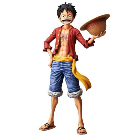 One Piece: Monkey D Luffy Grandista Nero Non-Scale Figure Pre-order Banpresto
