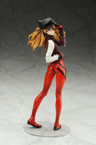 Evangelion 3.0: Asuka Langley Shikinami Jersey Ver. (Reproduction) 1/7 Scale Figure Pre-order Alter