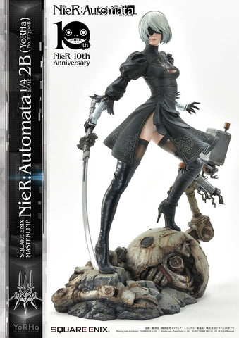 Square Enix Masterline Nier:Automata 1/4 Scale- 2B (Yorha No. 2 Type B) 1/4 Scale Figure Square Enix
