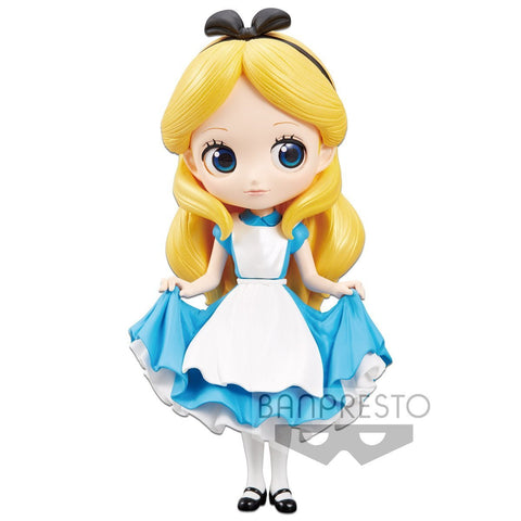 Q posket Disney Characters Alice (A:Normal Color Ver) : Disney Character Q posket Banpresto