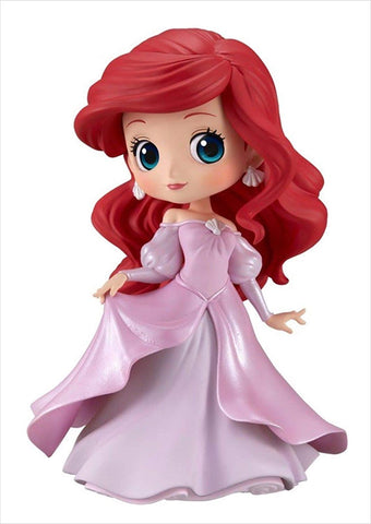 Q posket Ariel Princess Dress (Ver. B - Pink Dress): Disney Q posket Banpresto