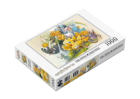 Square Enix Chocobo Party Up! 1000 Piece Jigsaw Puzzle No Longer Available Square Enix