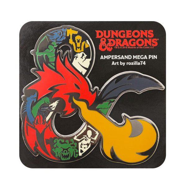 Dungeons & Dragons: Ampersand Mega Pin Goods For Fans By Fans
