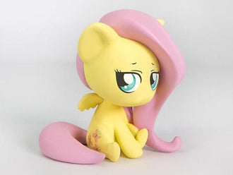 My Little Pony Chibi Vinyl Series 2 - Fluttershy Non-Scale Figure For Fans By Fans