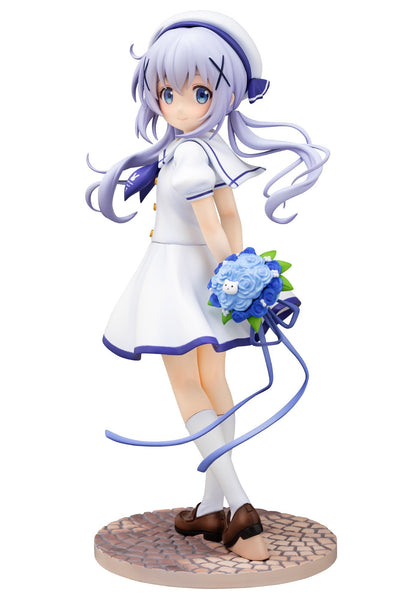 Is the Order a Rabbit?: Chino (Summer Uniform) 1/7 Scale Figure Pre-order Plum