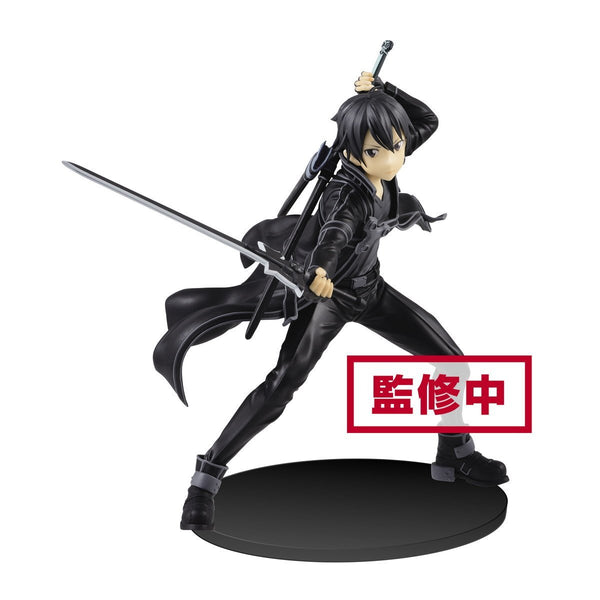 Sword Art Online EXQ Figure: Kirito Non-scale Figure Banpresto