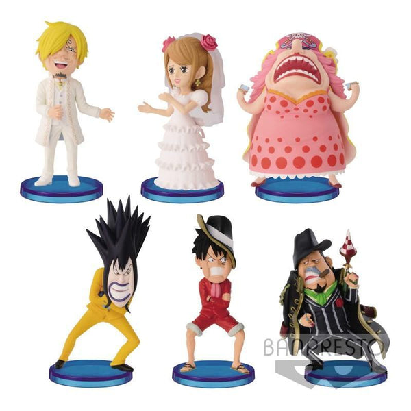 One Piece: World Collectable Figure Hallcake Island 2 (1 Random Figure) Collectible Banpresto