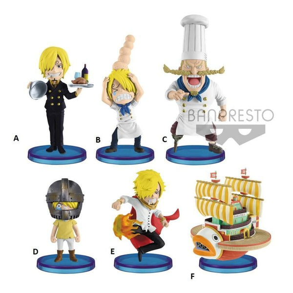 One Piece: One Piece World Collectable Figure History Of Sanji (1 Random Figure) Collectible Banpresto