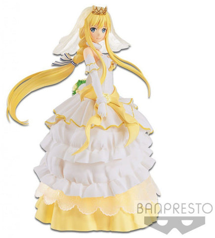 Sword Art Online Code Register: EXQ Figure Alice (Wedding Ver.) EXQ Banpresto