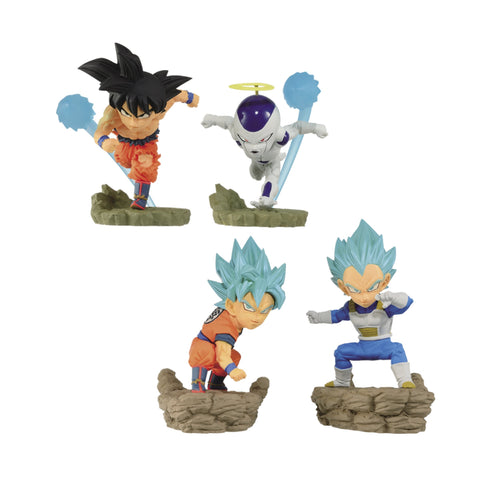 Dragon Ball Super: World Collectable Diorama Vol. 3 Set Trading Figure Banpresto