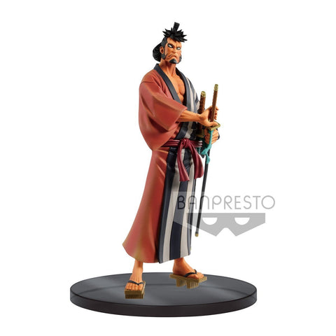 One Piece: DXF Figure The Grandline Men Wanokuni Vol. 4 Kinemon DXF Banpresto