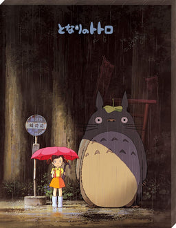 "My Neighbor Totoro ""Meeting Totoro"" Ensky Artboard Jigsaw (Canvas Style): Studio Ghibli Puzzle Ensky"