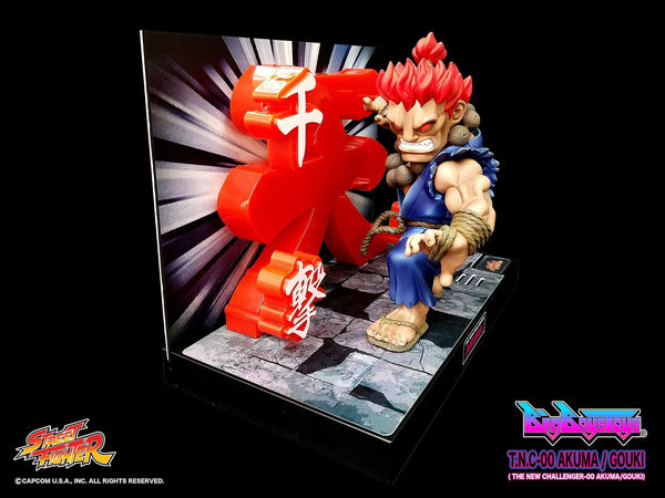 Street Fighter: Akuma (T.N.C. - 00) Non-Scale Figure Pre-order BigBoysToys