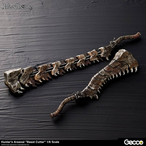 Bloodborne/Hunter's Arsenal Beast Cutter 1/6 Scale Weapon Props and Accessories Gecco