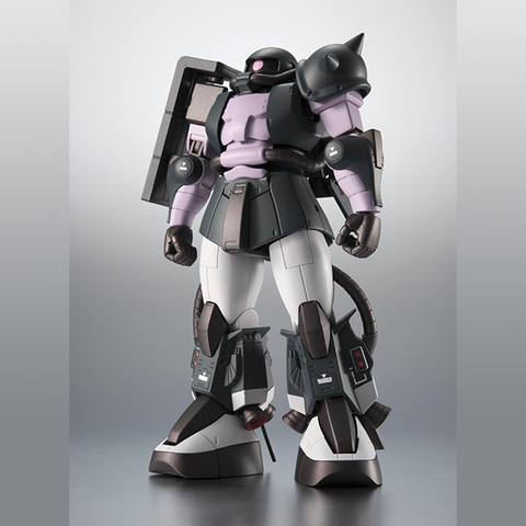 Mobile Suit Gundam: MS-06R-1A ZAKU Ⅱ High Mobility Type Black Tri Stars Ver. A.N.I.M.E. Non-Scale Figure Tamashii Nations