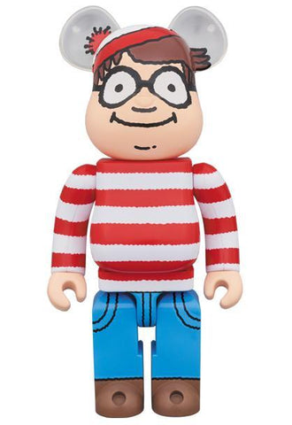 Where's Waldo?: Wally BE@RBRICK 400% BE@RBRICK Medicom Toy