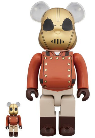 BE@RBRICK The Rocketeer 100% & 400% Set BE@RBRICK Medicom Toy