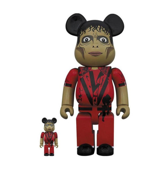 Be@rbrick Michael Jackson Zombie 100% & 400% Set Be@rbrick Medicom Toy